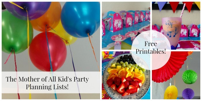 Kids-Party-planning-lists-free-printables