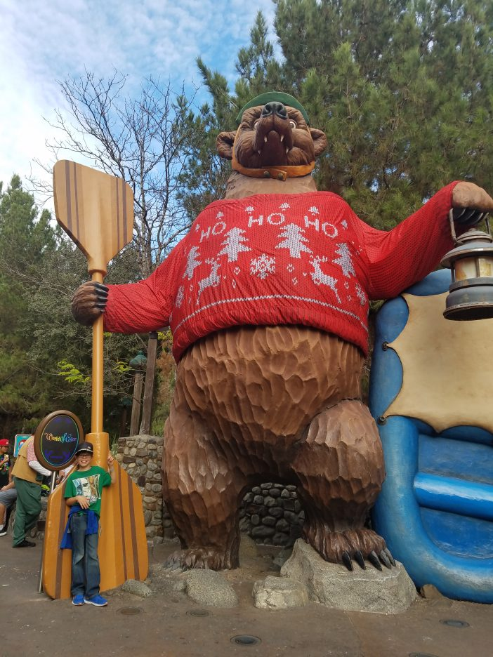 grizzly rapids in a Christmas Sweater