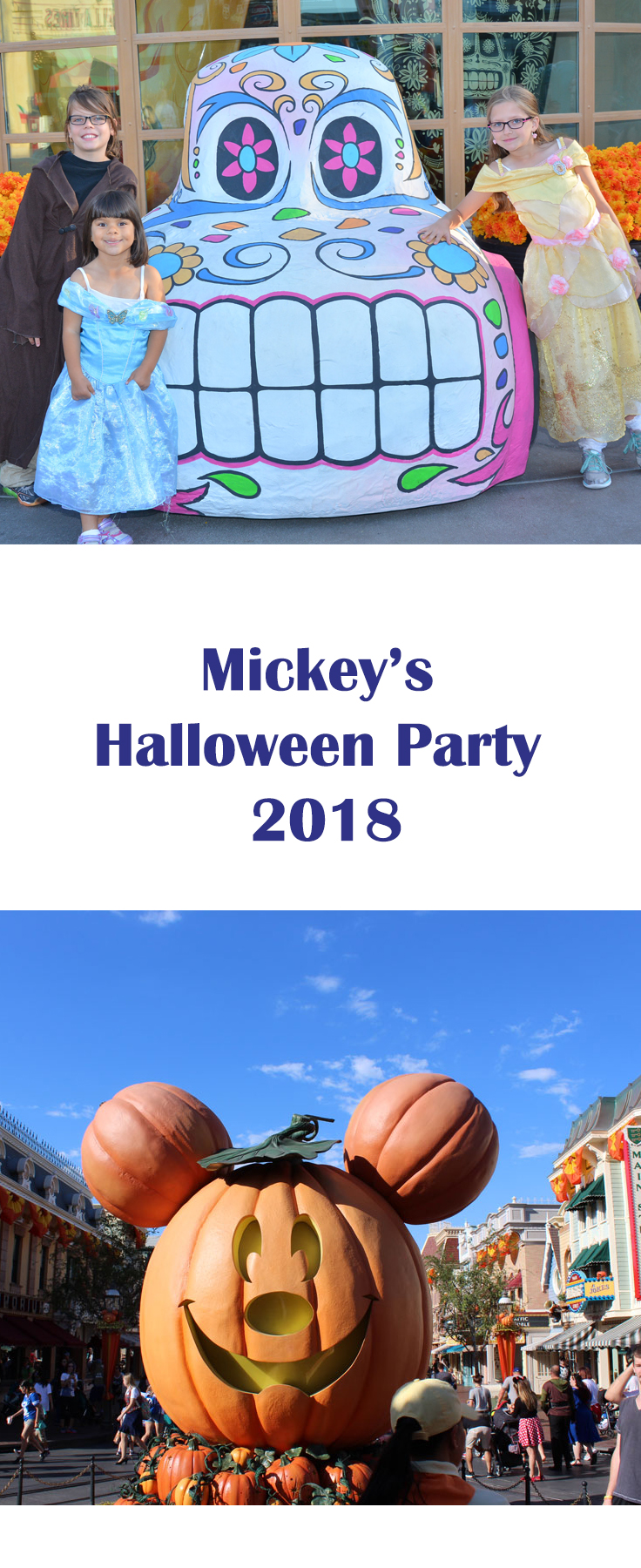 mickey's halloween party dates