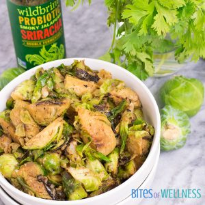 Simple Whole30 Spicy Sriracha Brussels Sprouts
