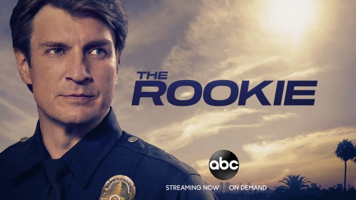 the rookie set nathan fillion