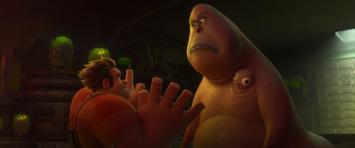 Disgusting monster with two heads on Ralph Breaks the Internet